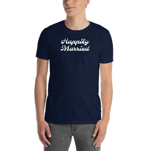 Happily Married Short-Sleeve Unisex T-Shirt