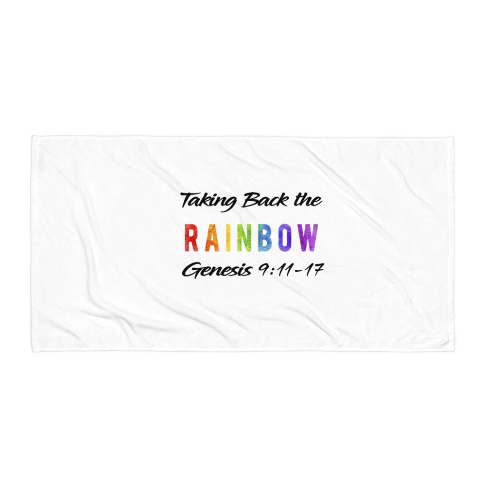 Taking Back the Rainbow Towel