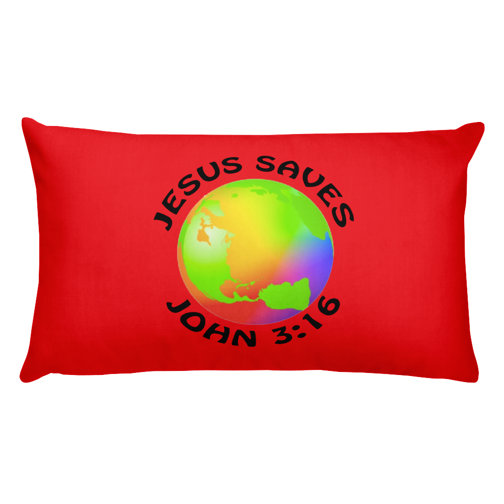 Jesus Saves Prayer Pillow