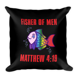 Matthew 4:19 Acts 2:38 Prayer Pillow