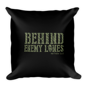 Behind Enemy Lines Warfare Prayer Pillow