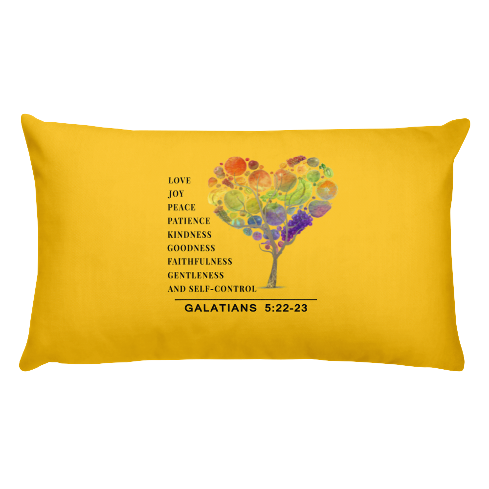 Fruit of the Spirit Prayer Pillow