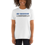 No Residue Short-Sleeve Unisex T-Shirt