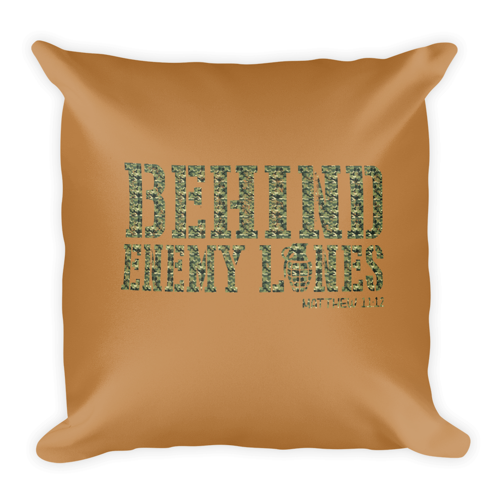Warfare Prayer Pillow
