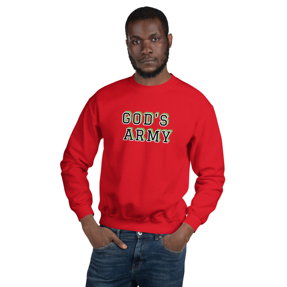 GOD'S ARMY Unisex Sweatshirt