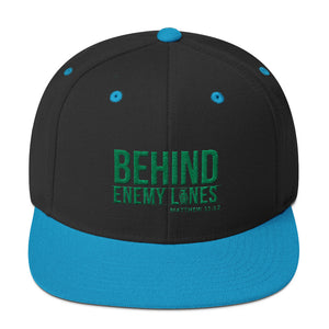 Behind Enemy Lines-Grn Embroidery Assorted Colors Snapback Hat