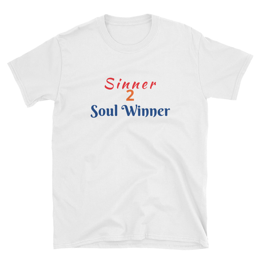 Sinner 2 Soul Winner Short-Sleeve Unisex T-Shirt