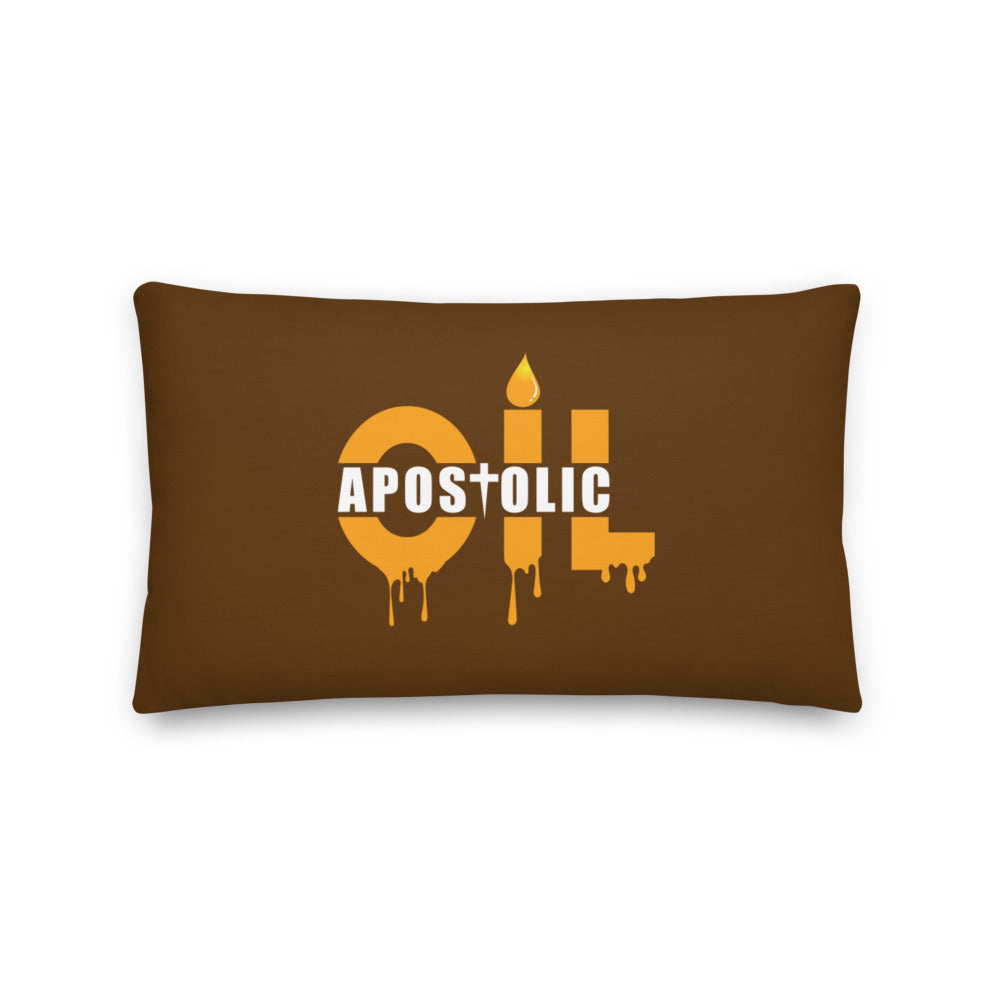 Apostolic Oil Kairos Prayer Pillow