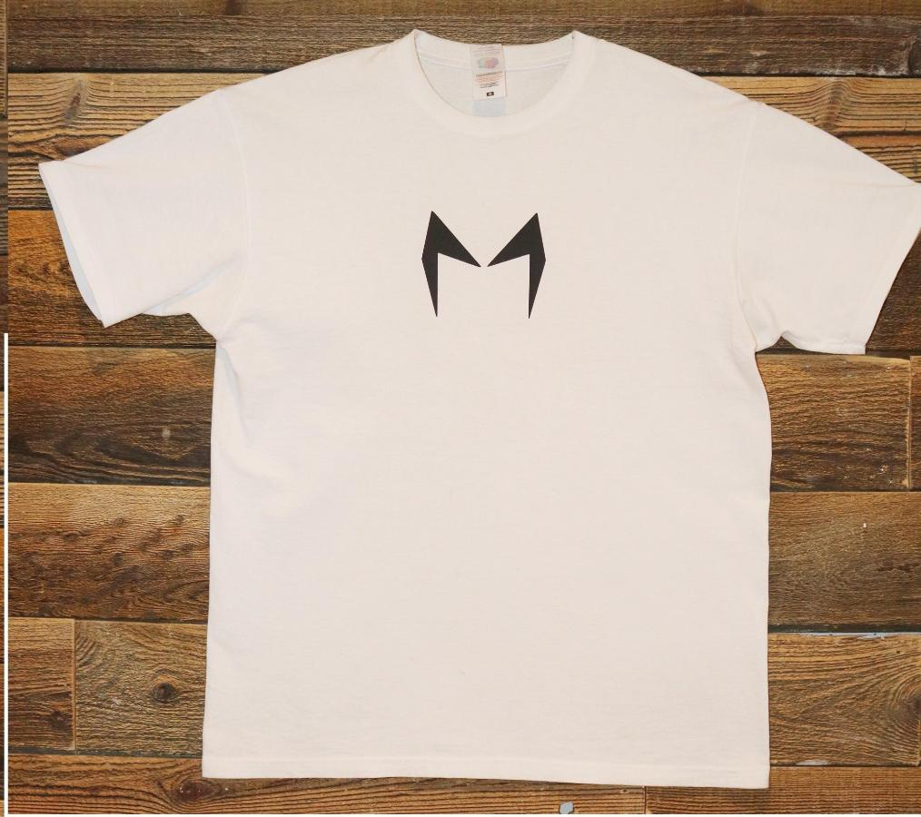 White & Black Short Sleeve Shirt