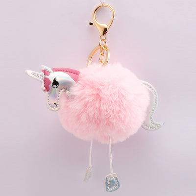 Plush s Unicorn Key Chain Pendant
