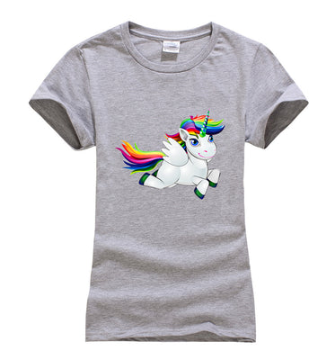 * Girls Rainbow Unicorn T-Shirts (See chart for size)