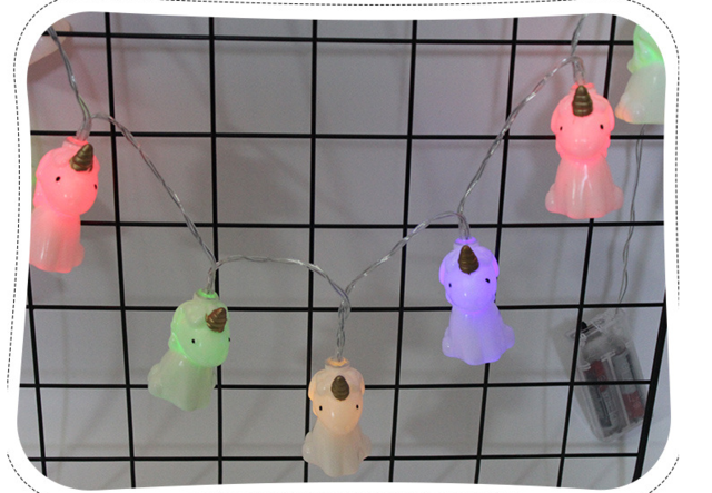 10 LED Unicorn Light String