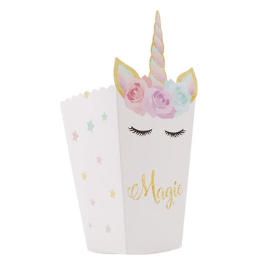 Fun Unicorn Party Gift Box