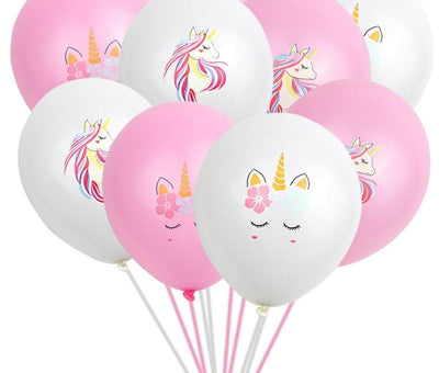 * Unicorn Balloons