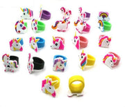 Creative Unicorn Children's Rings