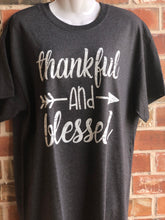Thankful & blessed short sleeve T-shirt