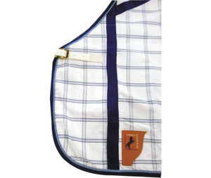 Capriole Deluxe Royal Blue Check Combo