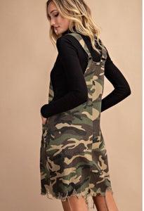 Camo Minidress
