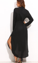 Black Shirt Dress (ON SALE)
