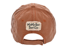 MaMa Hair Don't Care Hat (tangerine)