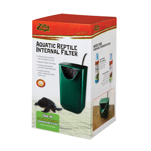 Zilla Aquatic Reptile Internal Filter size 40