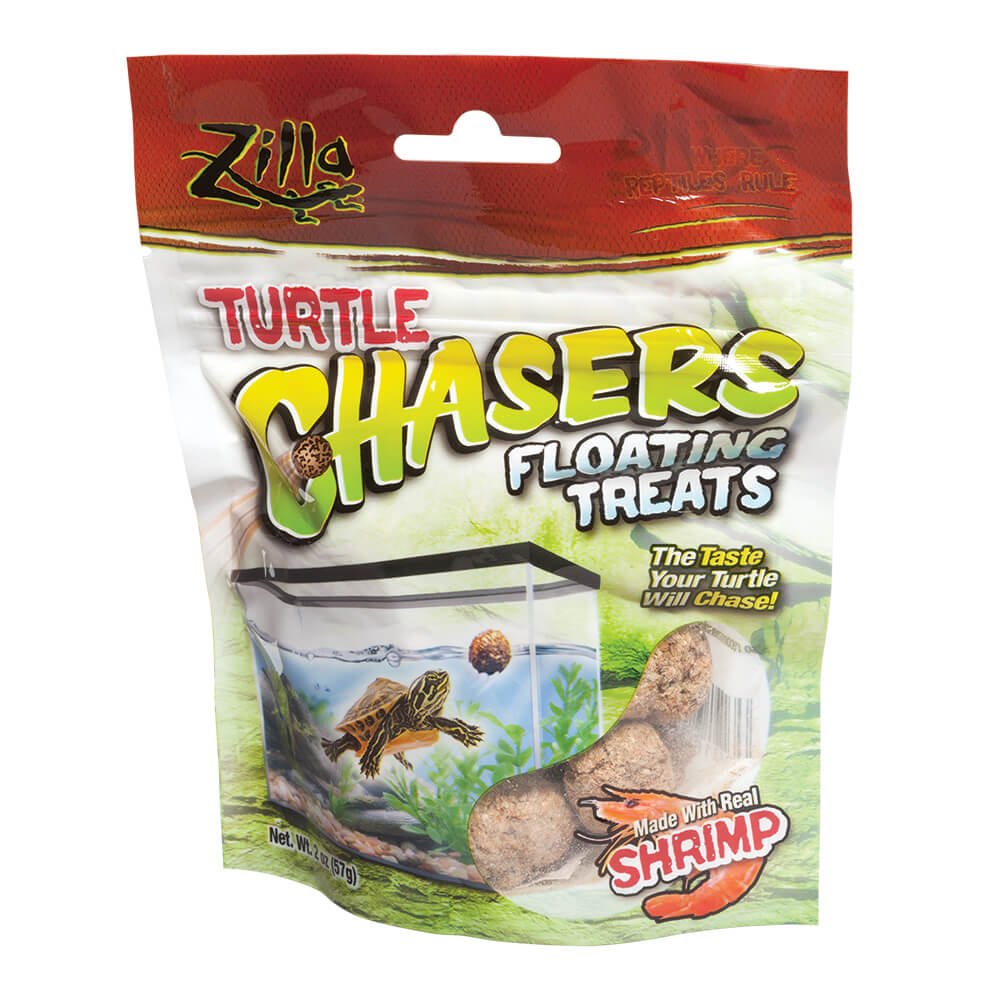 Zilla Turtle Chasers, Shrimp Flavor