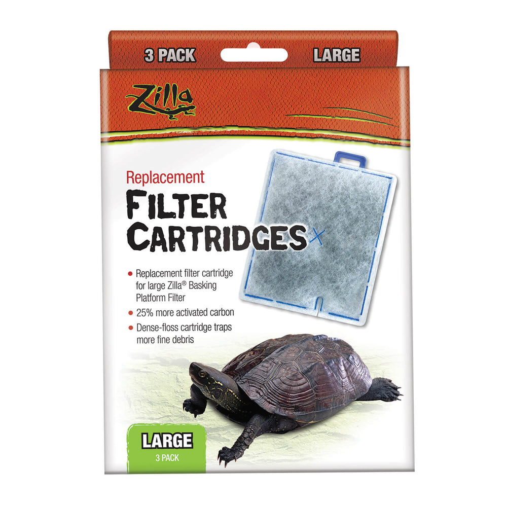 Zilla Replacement Filter Cartridges Large 3pack