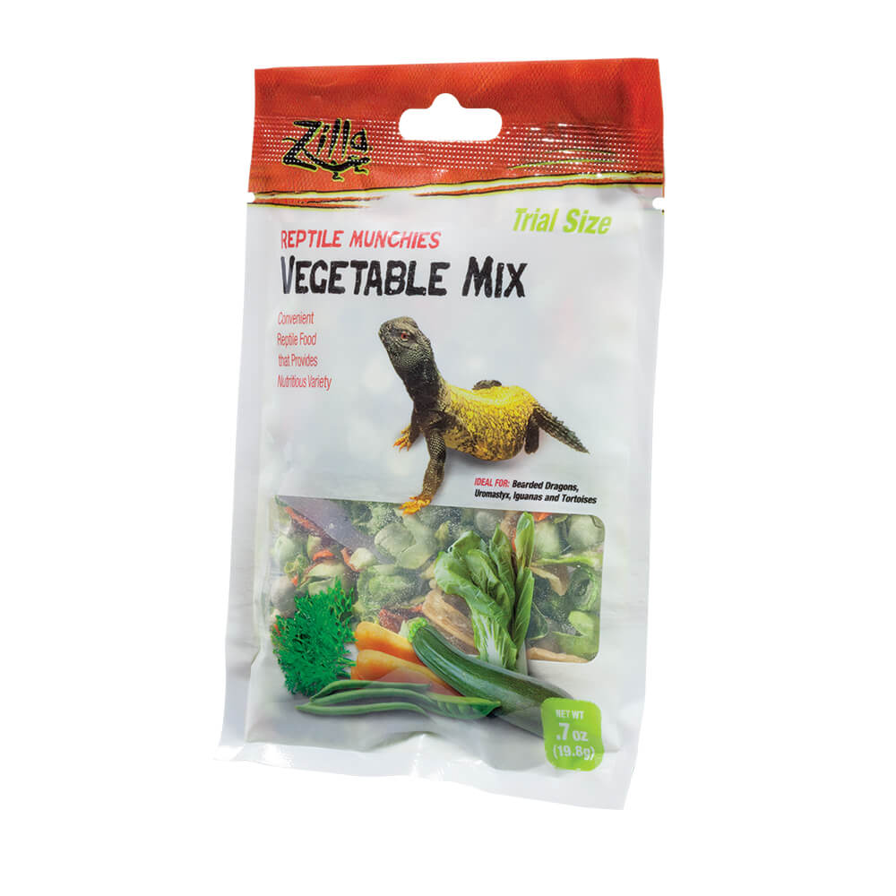 Zilla Reptile Munchies Vegetable Mix, 0.7oz