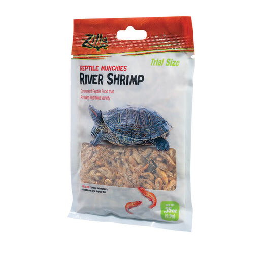 Zilla Reptile Munchies River Shrimp, 0.35oz