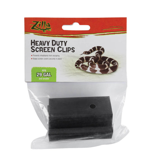 Zilla Heavy Duty Screen Clips Small
