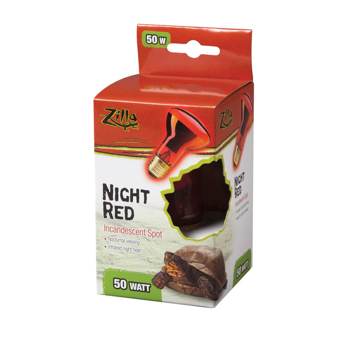 Zilla Incandescent Spot Bulbs (Night Red) 50W