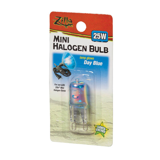 Zilla Day Blue Mini Halogen Bulb, 25w