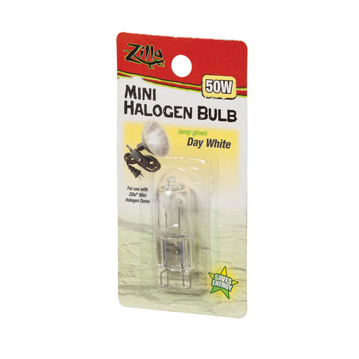 Zilla Day White Mini Halogen Bulb, 50w