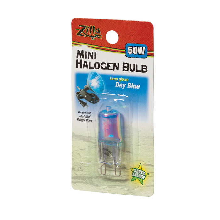 Zilla Day Blue Mini Halogen Bulb, 50w