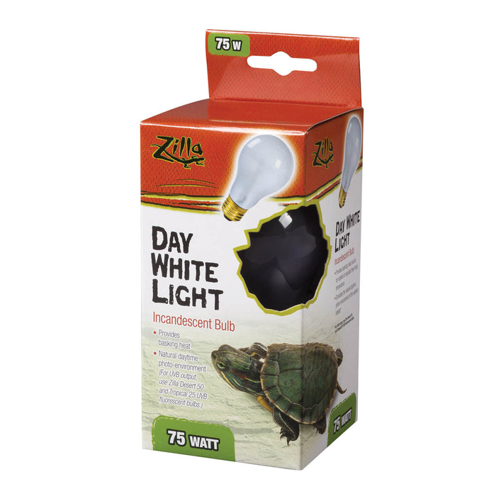 Zilla Day White Incandescent Bulb, 75w