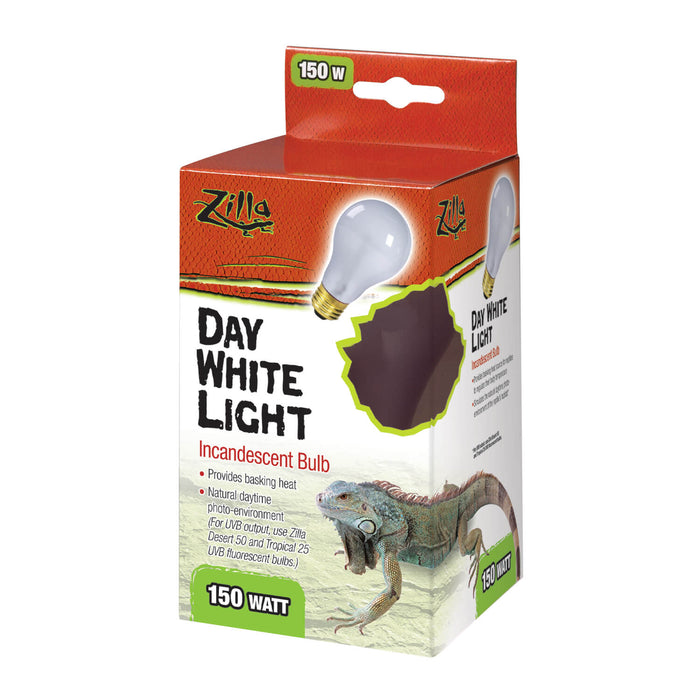 Zilla Day White Incandescent Bulb, 150w