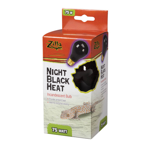 Zilla Night Black Incandescent Bulb, 75w