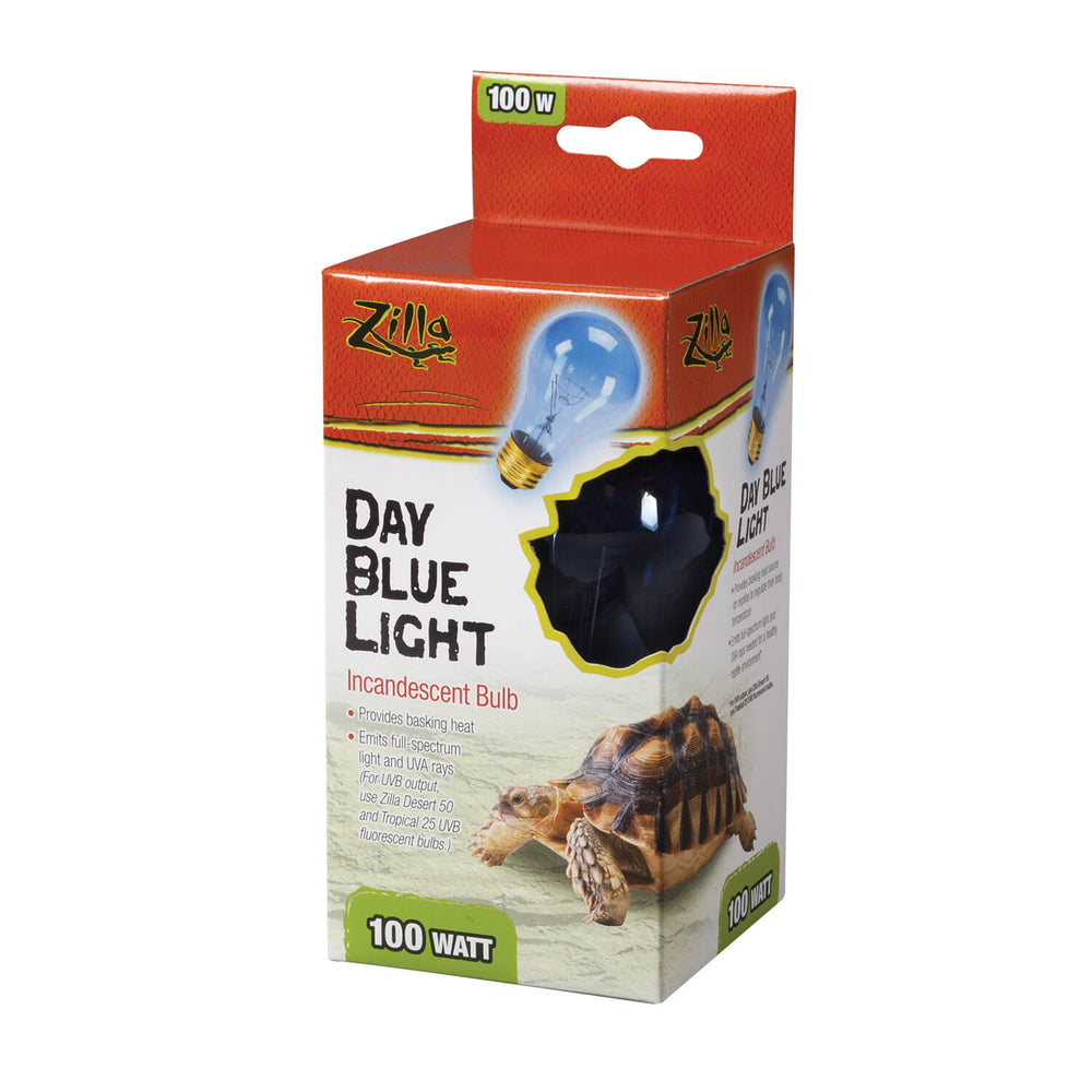 Zilla Day Blue Incandescent Bulb, 100w
