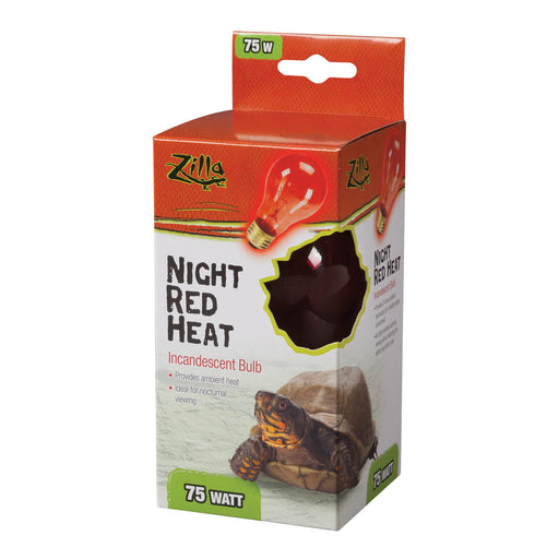 Zilla Night Red Incandescent Bulb, 75w