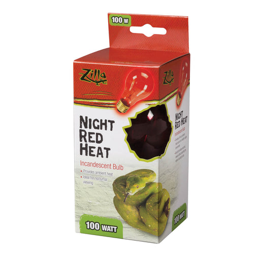 Zilla Night Red Incandescent Bulb, 100w