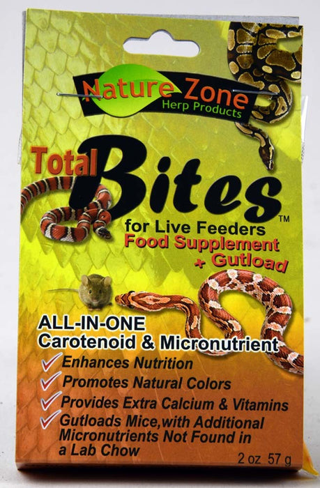 Nature Zone Total Bites for Live Feeders 2oz