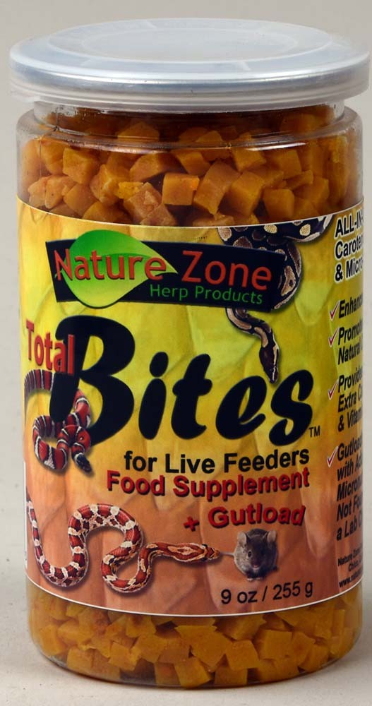 Nature Zone Total Bites for Live Feeders, 9oz