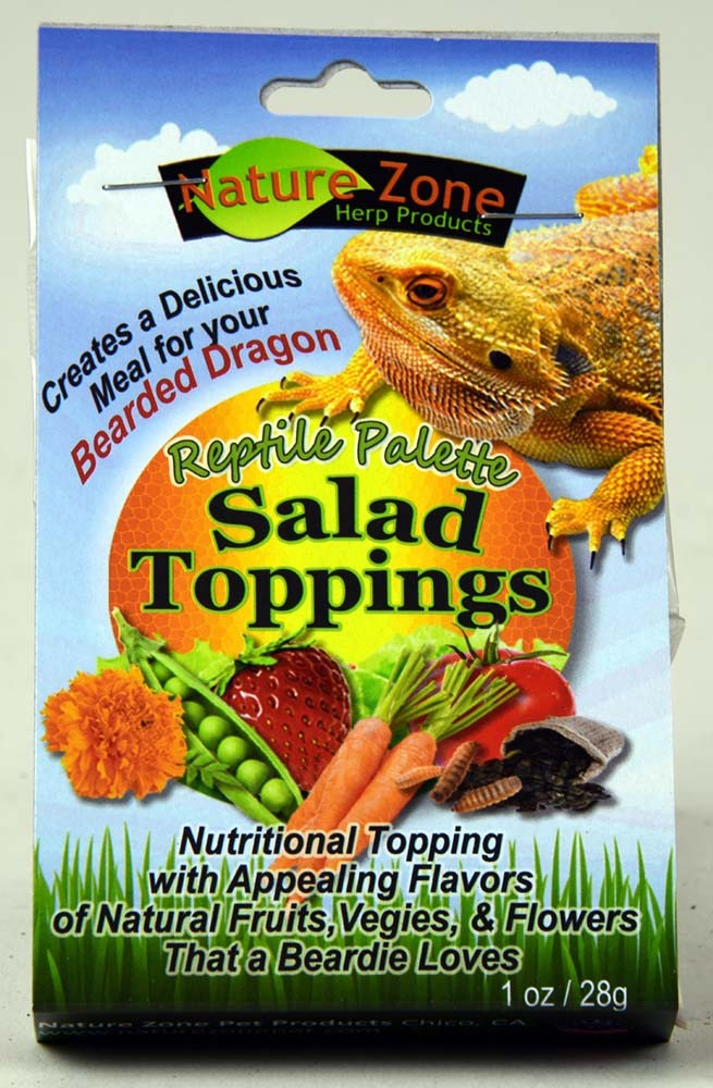 Nature Zone Salad Toppings Bearded Dragon 2oz