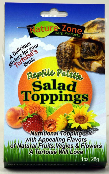 Nature Zone Salad Topping for Tortoises, 2oz