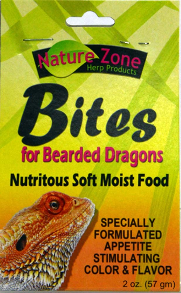 Nature Zone Bites for Bearded Dragons, 2oz