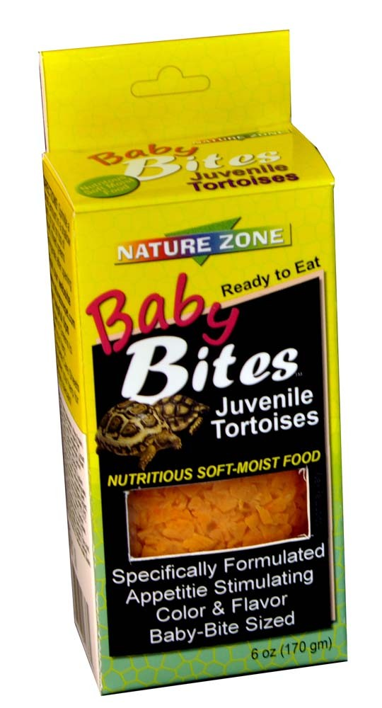 Nature Zone Baby Bite Tortoise Food, 6oz