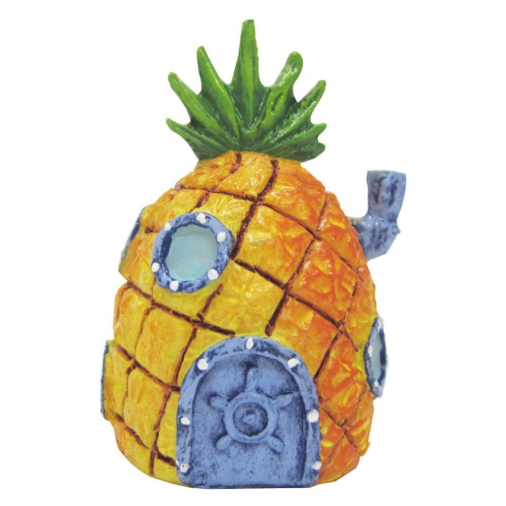 Penn-Plax Sponge Pineapple House Ornament