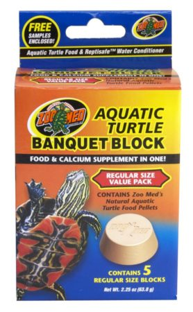 Zoo Med Aquatic Turtle Banquet® Block Regular 5pack