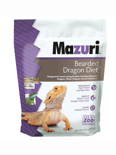 Mazuri Bearded Dragon Diet 6oz
