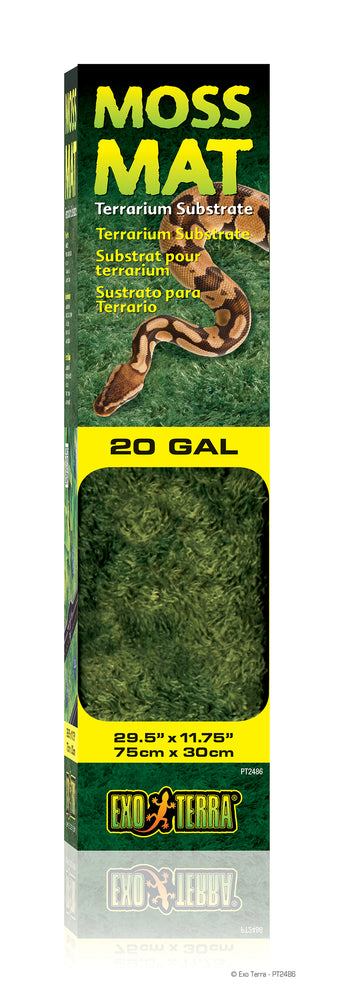 Exo Terra Moss Mat, 20 gallon (long)